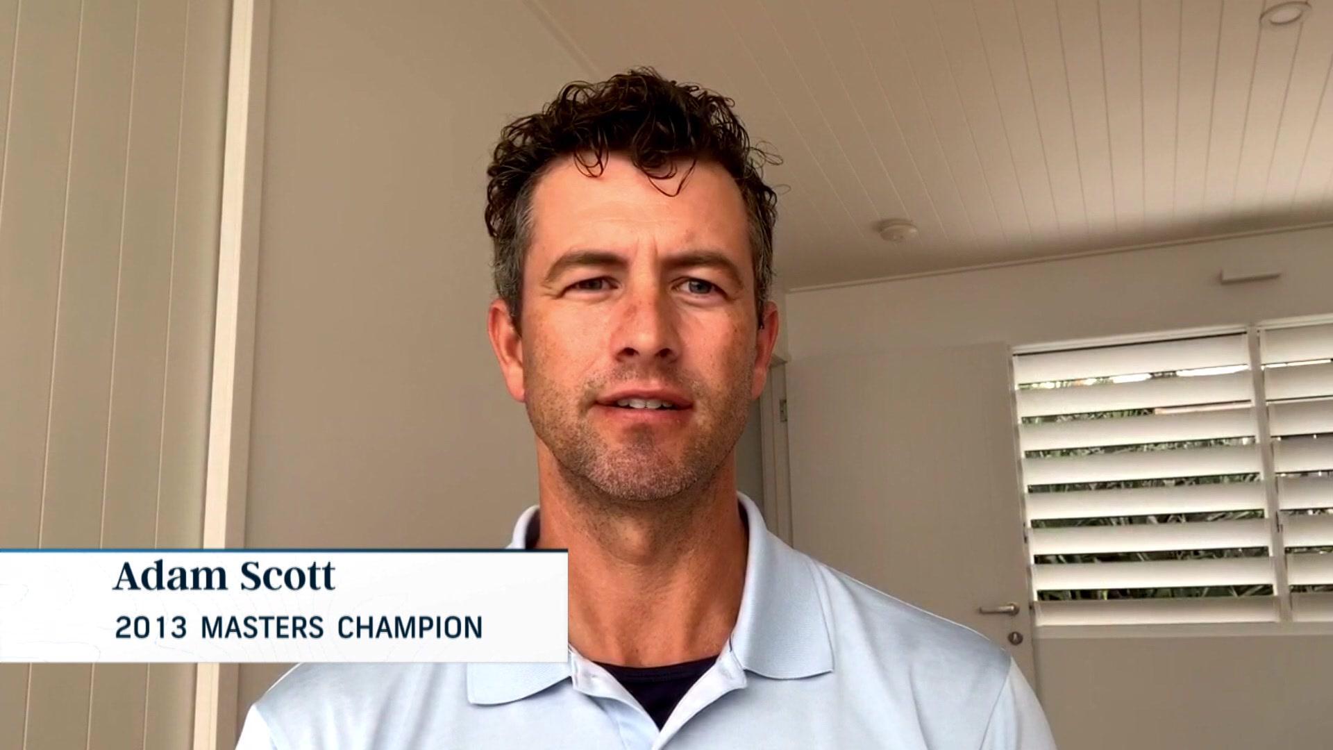 Adam Champ adam scott masters week interview | golf channel