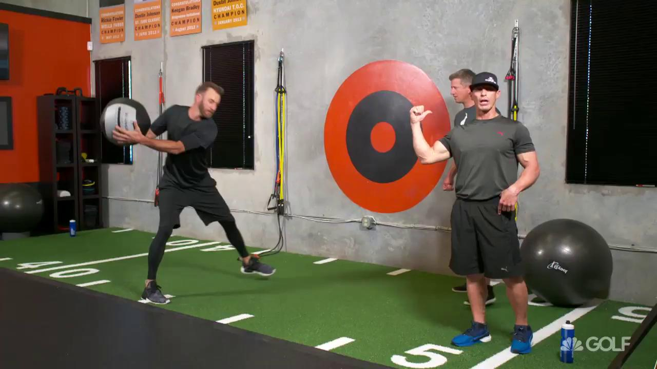 Golf Fitness Exercises Channel Software Untuk Gym Center Joey D Talks Power And Flexibility In