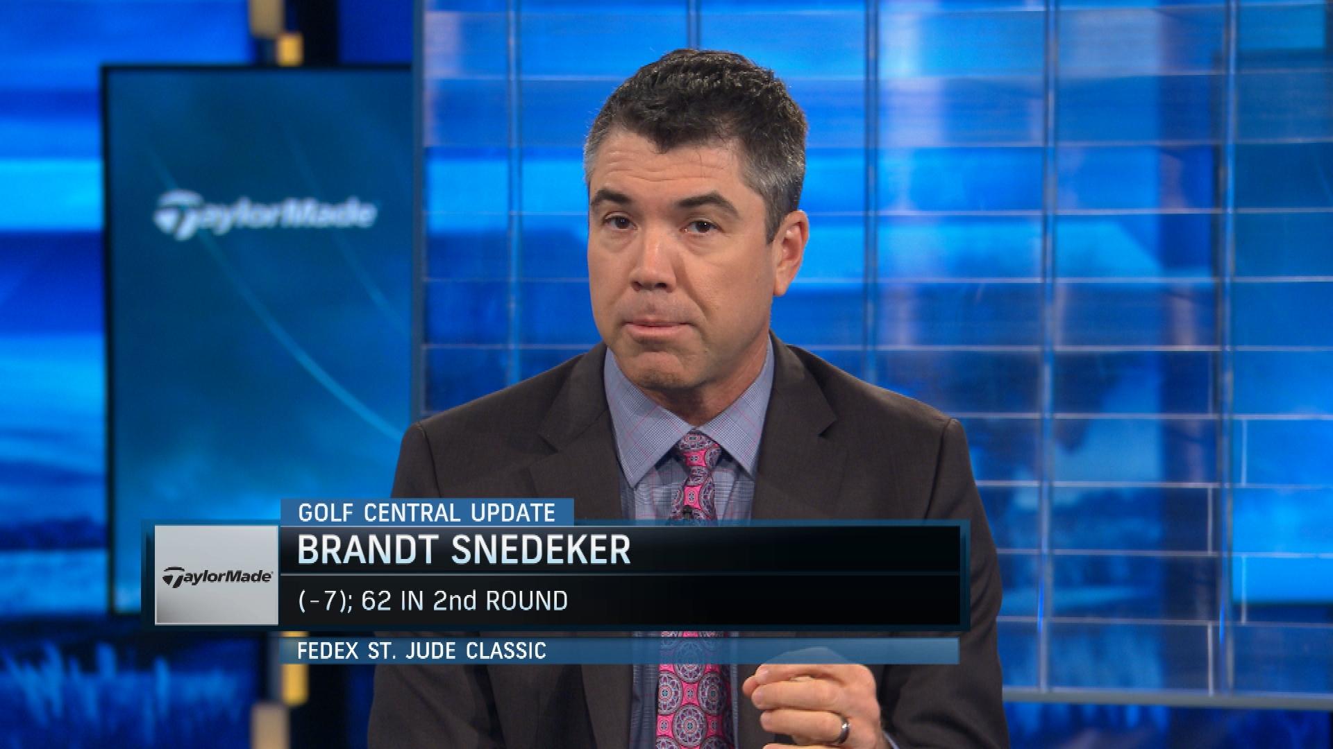Golf Central Update Brandt Snedeker 62 Fedex St Jude Golf Channel