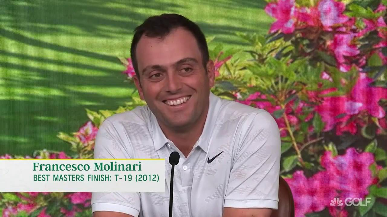 Molinari not intimidated by power players at Masters